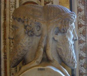 Dios Jano, en los Museos Vaticanos