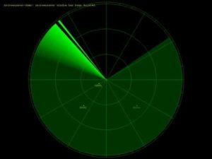 Imagen de un radar