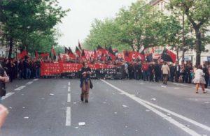 Celebración del 1 de Mayo en París