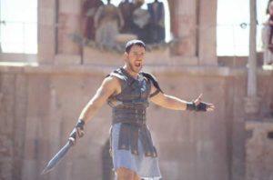 """Escena de la película """"Gladiator"""""""