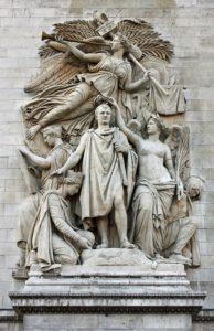 """Representación escultórica de """"El Triunfo"""""""