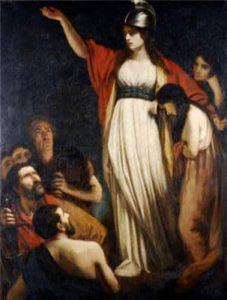 Reina Boudica por John Opie