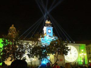 La Puerta del Sol de Madrid en Nochevieja