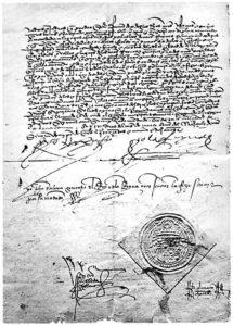 Edicto de Granada, por el que se expulsa a los judíos