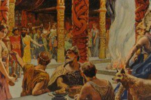 En el banquete del Valhalla, Lokie era el invitado número 13