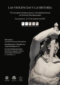 Cartel del Congreso Las violencias y la historia
