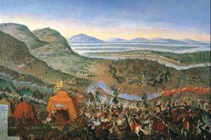 La batalla según Franz Geffels
