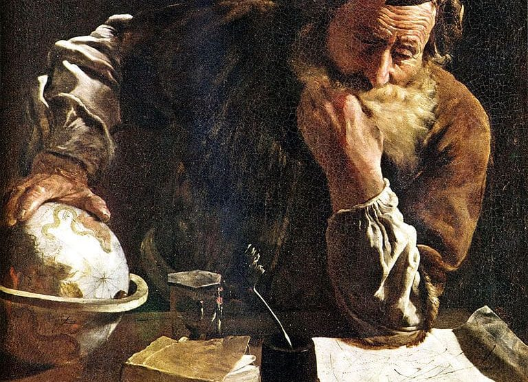 Arquímedes pensativo (Domenico Fetti)