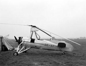 Autogiro de Juan de la Cierva