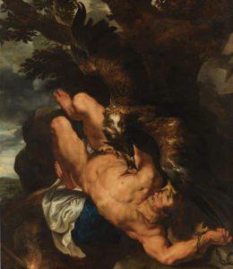 """""""Prometeo encadenado"""" de Pedro Pablo Rubens y Frans Snyders"""