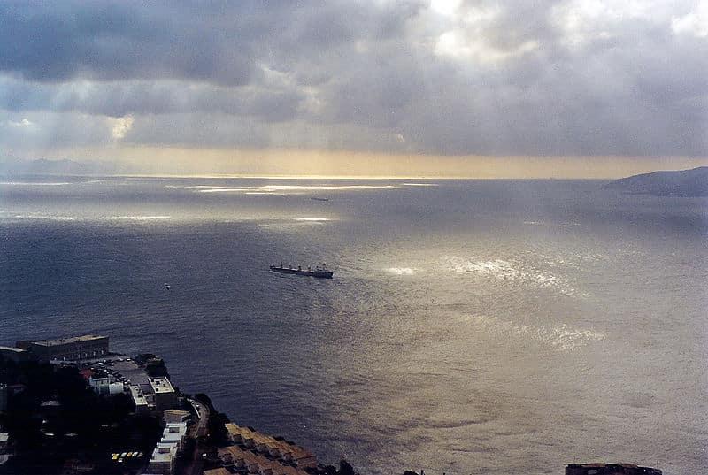 El Estrecho de Gibraltar, puerta del Mediterráneo