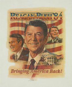 Cartel del Reagan y el Partido Republicano