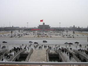 La Plaza de Tiananmen, escenario de las protestas de 1989.