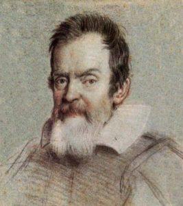 Galileo por Ottavio Leoni (1624)