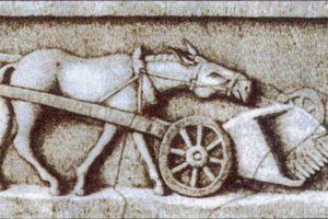 Recolectores de la época romana