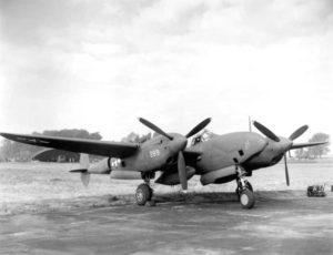 El Lockheed P-38, modelo que pilotó Saint-Exúpery