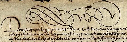 Uno de los documentos disponibles en Eurodocs