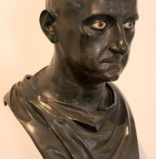 Busto de Escipión como senador de Roma
