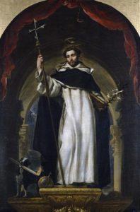 Santo Domingo de Guzmán, obra de Claudio Coello