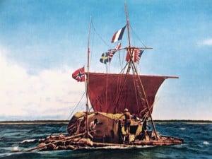 La Kon-Tiki de Thor Heyerdahl