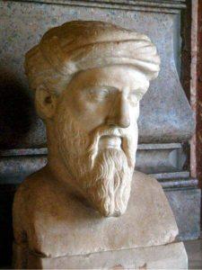Pitágoras (Wikimedia)