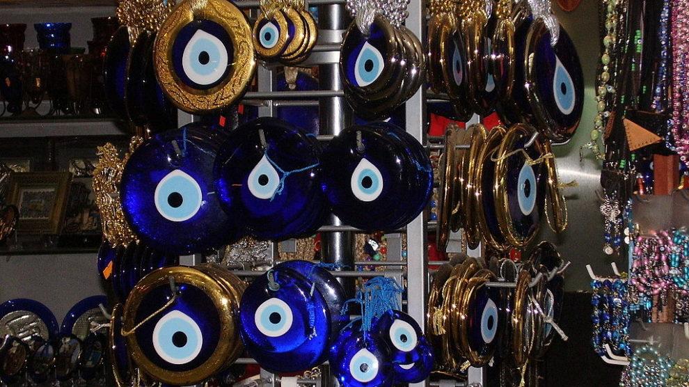 Ojo turco, talismán para proteger contra el mal de ojo