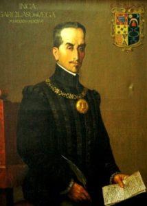 Inca Garcilaso, quien fuera sobrino-nieto del célebre poeta español