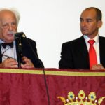El historiador Tito Benady junto al director del IECG Ángel Sáez (IECG)