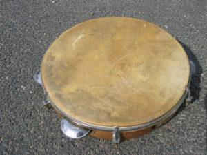 """El """"Pandeiro"""" ha sido uno de los instrumentos más comunes en la música interpretada durante los combates"""