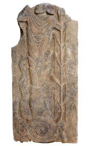 Representación del dios en basalto (Westfälische Wilhelms-Universität Münster)