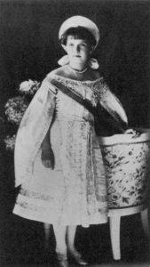 Retrato de Anastasia Romanov