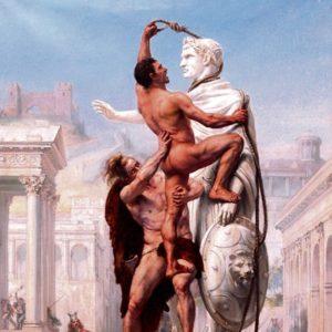 Versión decimonónica del saqueo de Roma por Sylvestre