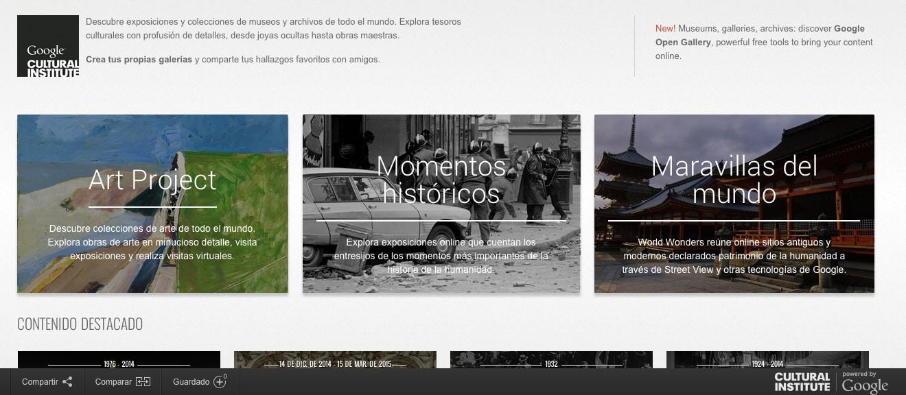 cultural web google Historial web : búsqueda avanzada herramientas de idioma: ofrecido por google en: english programas de publicidad todo acerca de google googlecom in english.
