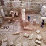 Trabajos de excavación en la casa de las Musas (Zeugma Archaeological Project)