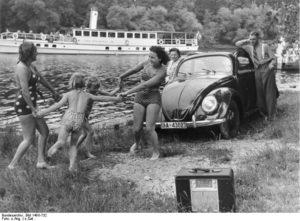 Imagen publicitaria del Kdf-Wagen