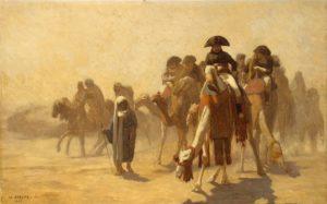 La llegada de Napoleón a Egipto impulsó en gran medida la Egiptología
