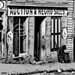 Anuncio de subasta de esclavos en Georgia (EEUU) a mediados del siglo XIX.