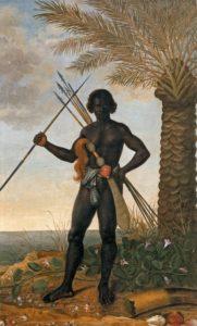 Representación de Ganga Zumbi por Albert Eckouts