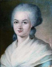 Olympe de Gouges, autora de la Declaración de los Derechos de la Mujer y la Ciudadana en 1791.
