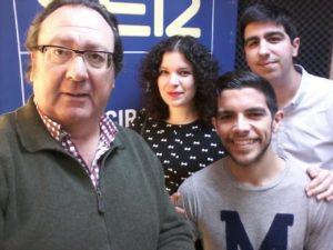 El equipo de Descubrir la Historia con Juan Manuel Dicenta.