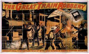 Cartel de la película «Asalto y robo de un tren»
