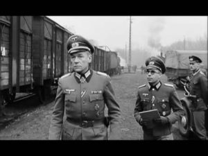Fotograma de la película «El tren», protagonizada por Burt Lancaster