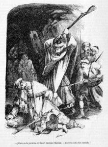 'Los Monfíes de las Alpujarras' (1859) de Manuel Fernández y González (Wikimedia).