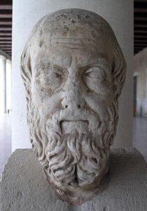 Busto de Heródoto de Halicarnaso (Wikimedia). Kapuscinski - 336px AGMA He  rodote  - Viajes con Heródoto y Kapuscinski