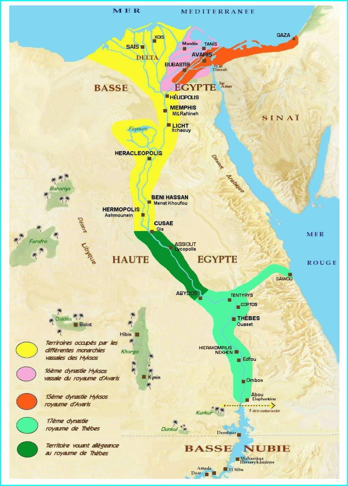 Egipto y la invasin de los hicsos  Descubrir la Historia