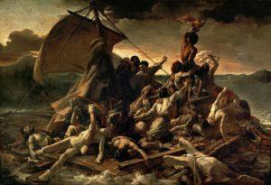 La Balsa de la Medusa, de Géricault (1818-1819)
