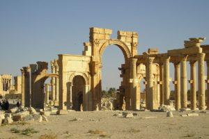 Ruinas monumentales de Palmira (Wikimedia)