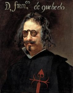 Retrato de Quevedo (Wikimedia).