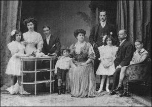 Retrato de la familia Calleja
