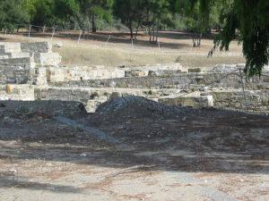 Termas romanas de Carteia (Wikimedia).